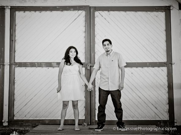Santa Cruz engagement picture