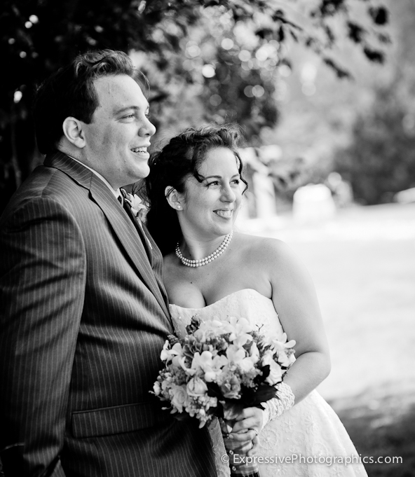 seascape golf club wedding portrait