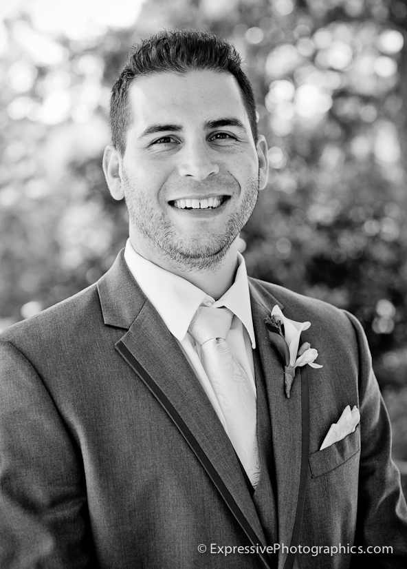 groom portrait at hollins house