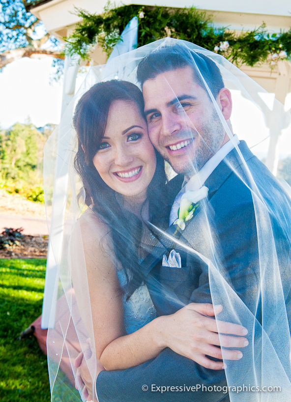 bride and groom portrait, hollins house wedding