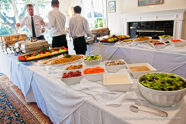 buffet tables hollins house