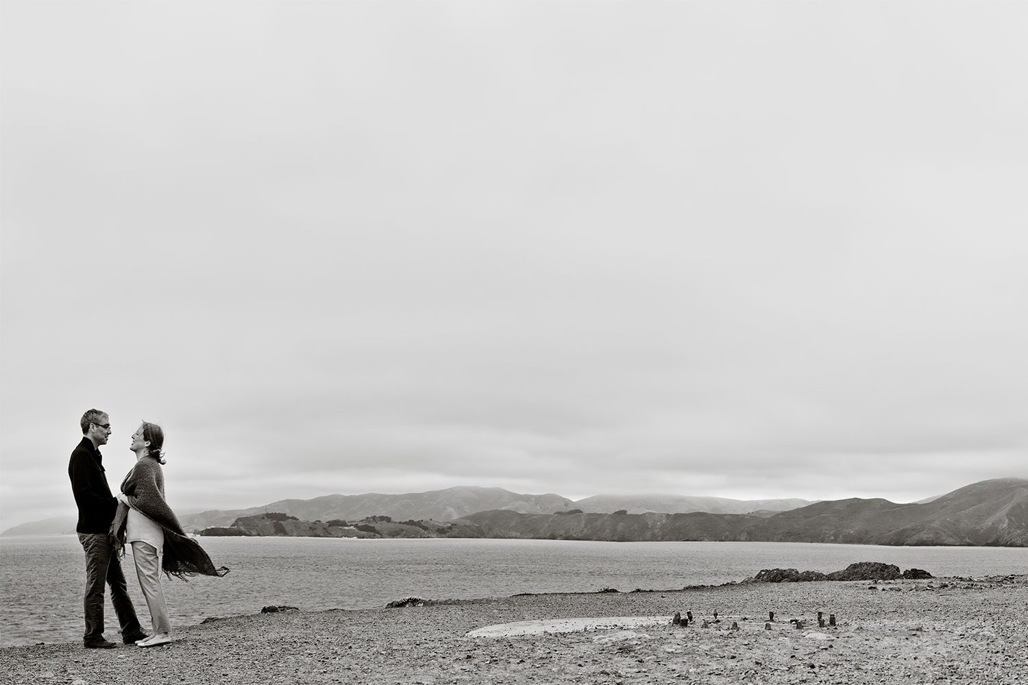 Lands End Engagement portraits
