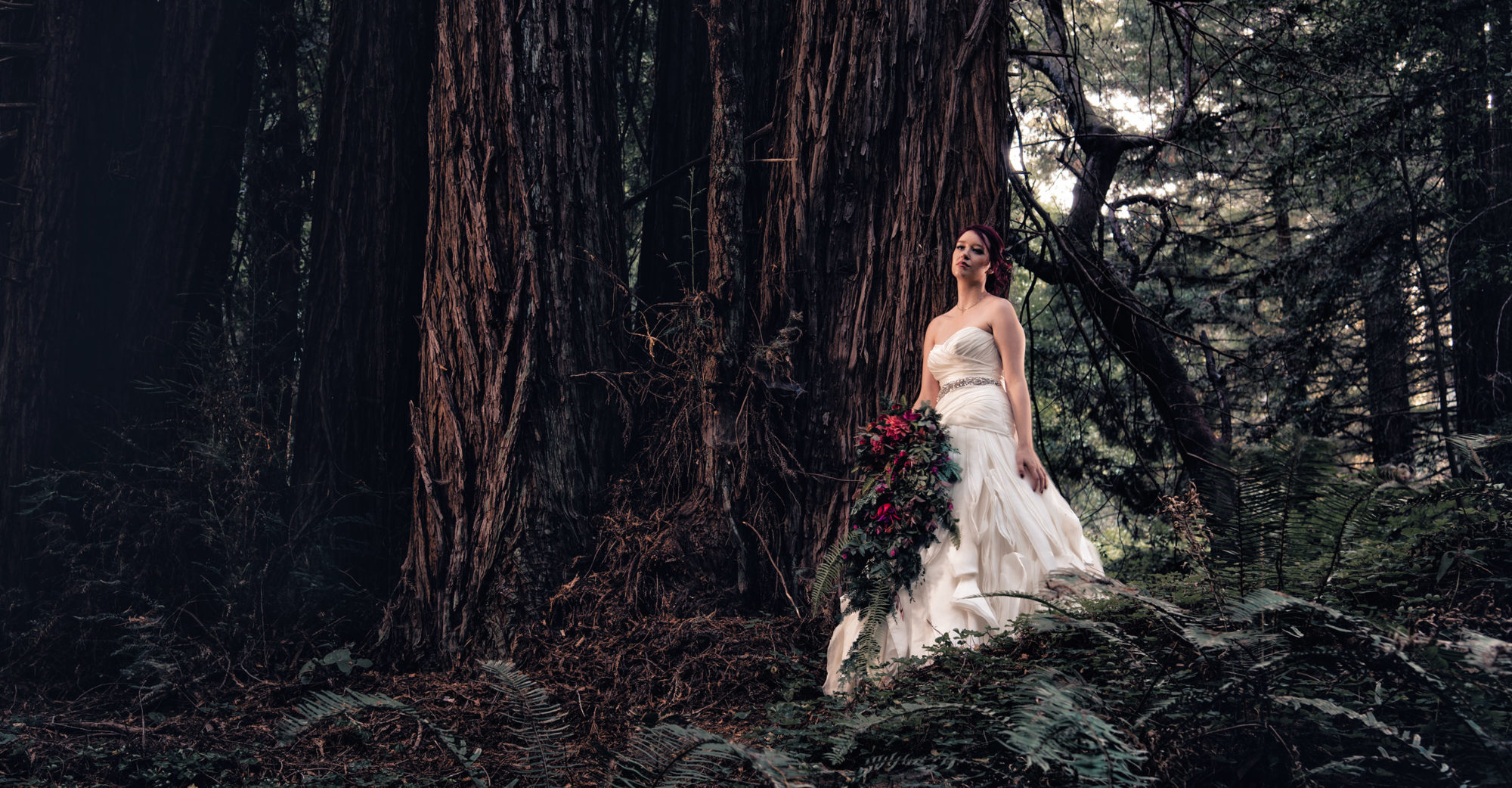 Forest Glam Bride