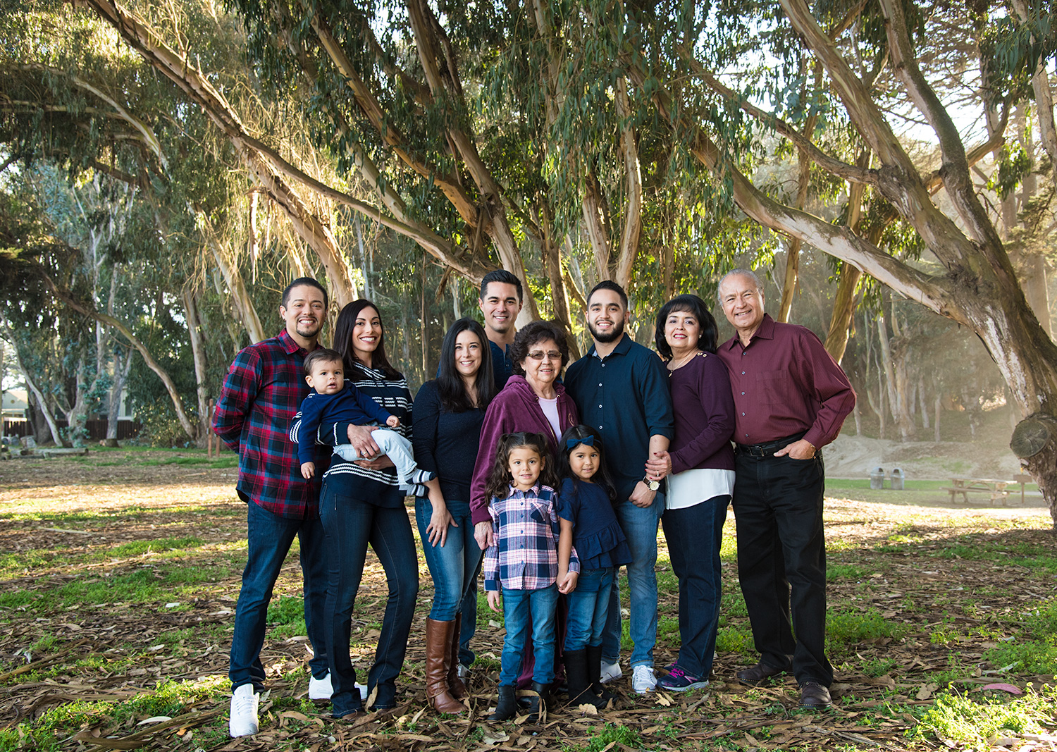 santa cruz family portrait neighborhood park locations