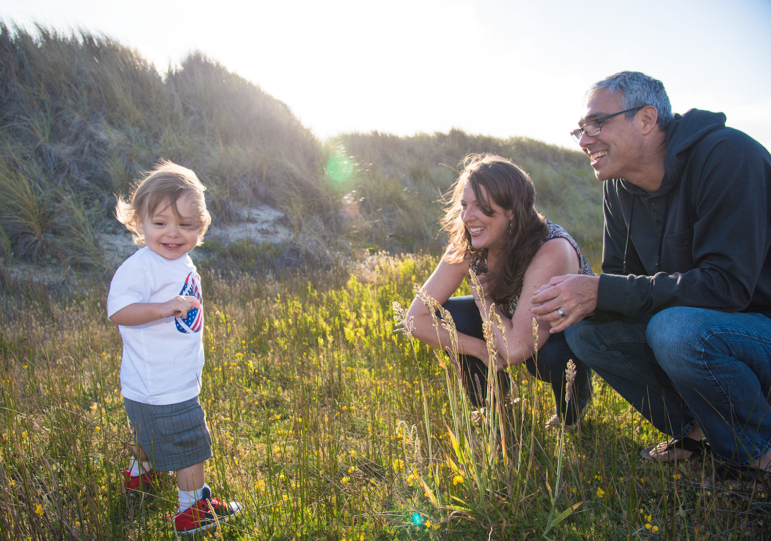 santa cruz family portrait locations beach dunes